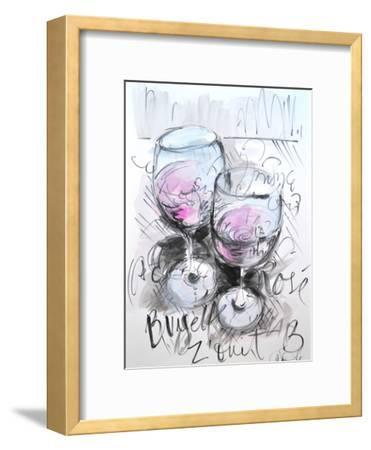 Parisian Rose-Cara Francis-Framed Art Print