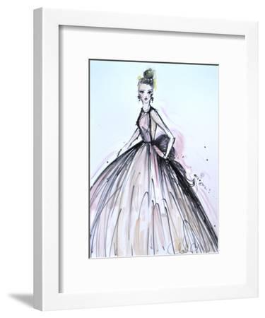 Pink Elegance-Cara Francis-Framed Art Print
