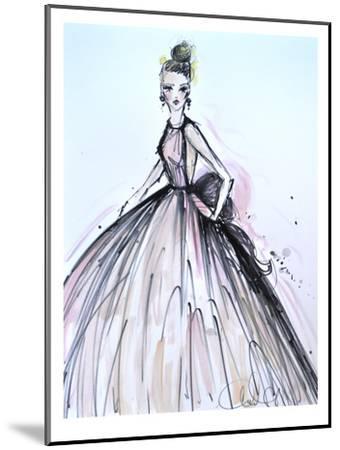 Pink Elegance-Cara Francis-Mounted Art Print