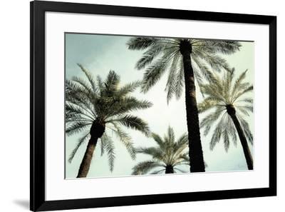 Palm Two-Carla West-Framed Art Print
