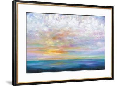 Orange Skies-Mary Johnston-Framed Art Print