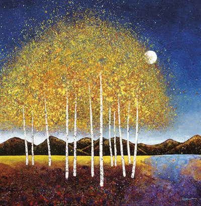 Evening Stream-Melissa Graves-Brown-Framed Art Print