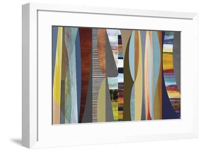 Juxtaposition 2-Osbourn-Framed Giclee Print