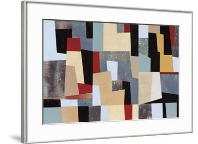 Moderne Left- Long-Framed Giclee Print