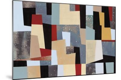Moderne Left- Long-Mounted Giclee Print