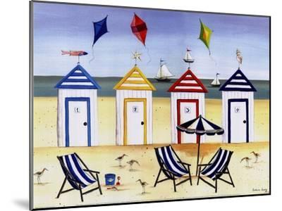 Beach Houses-Katharine Gracey-Mounted Art Print