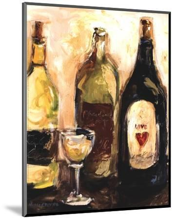 Glass Of White-Nicole Etienne-Mounted Art Print