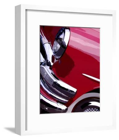 Tail Fins And Two Tones I-Unknown-Framed Art Print