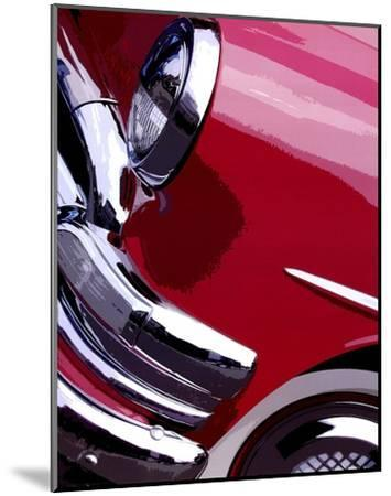 Tail Fins And Two Tones I-Unknown-Mounted Art Print