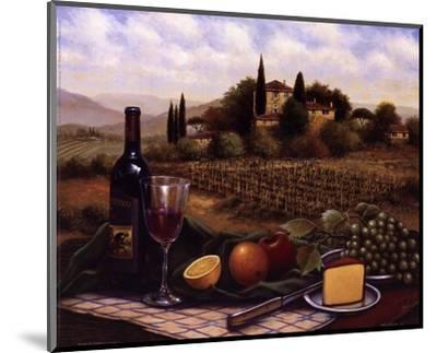 Terrace At Chianti-Unknown-Mounted Art Print