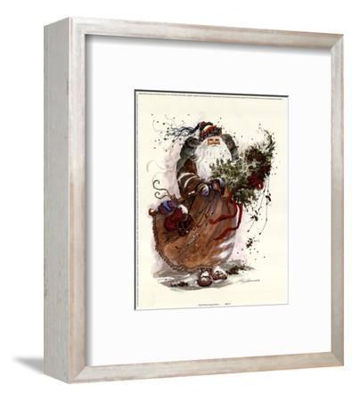 Jingle Bells-Peggy Abrams-Framed Art Print