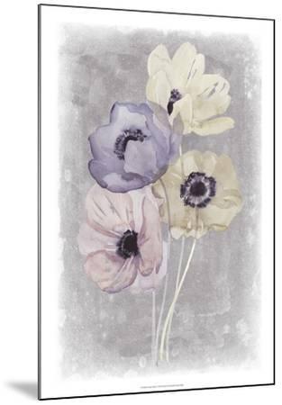 Floral Waltz I-Grace Popp-Mounted Art Print