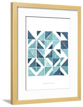Beryl Block Print IV-Grace Popp-Framed Art Print