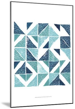 Beryl Block Print IV-Grace Popp-Mounted Art Print