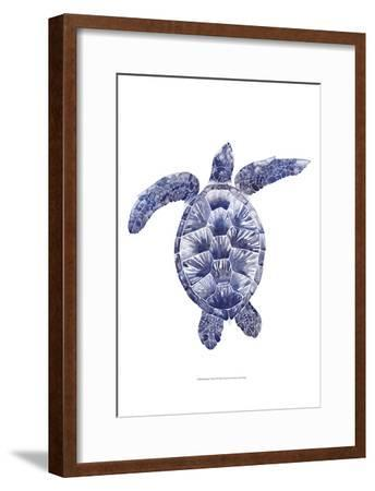 Marine Turtle II-Grace Popp-Framed Art Print