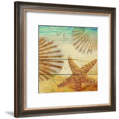 On Sandy Beach II-Irena Orlov-Framed Art Print