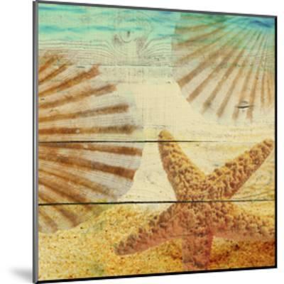 On Sandy Beach II-Irena Orlov-Mounted Art Print