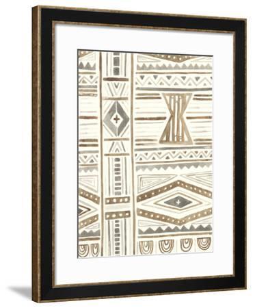 Tribal Impressions III-June Erica Vess-Framed Giclee Print