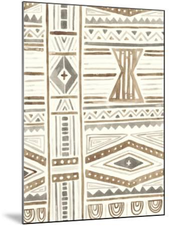 Tribal Impressions III-June Erica Vess-Mounted Giclee Print