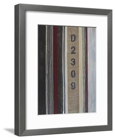 Code Words I-Natalie Avondet-Framed Art Print