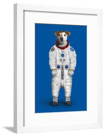 Rover (Pets Rock)-Takkoda-Framed Art Print