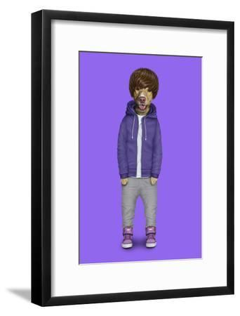 Teen (Pets Rock)-Takkoda-Framed Art Print