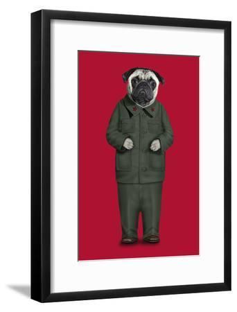 China (Pets Rock)-Takkoda-Framed Art Print