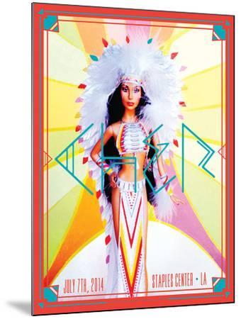 Cher 2014-Kii Arens-Mounted Art Print