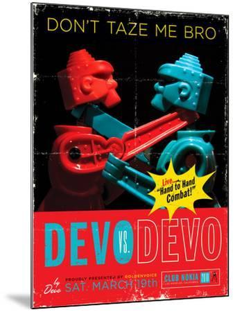 Devo Club Nokia 2010-Kii Arens-Mounted Art Print