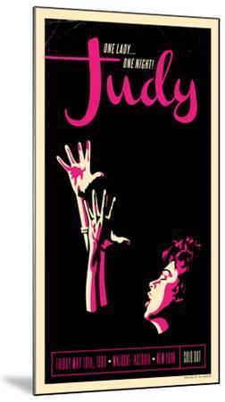 Judy Garland-Kii Arens-Mounted Art Print