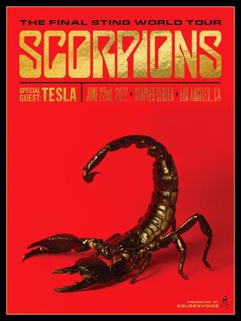 Scorpions-Kii Arens-Art Print