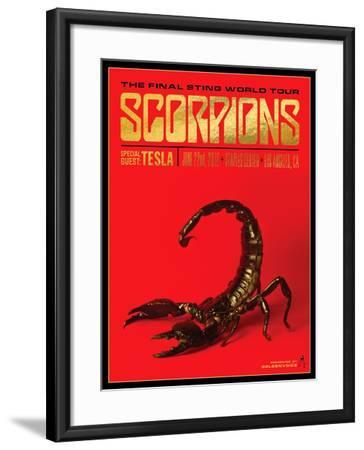 Scorpions-Kii Arens-Framed Art Print