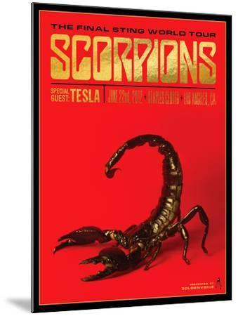 Scorpions-Kii Arens-Mounted Art Print