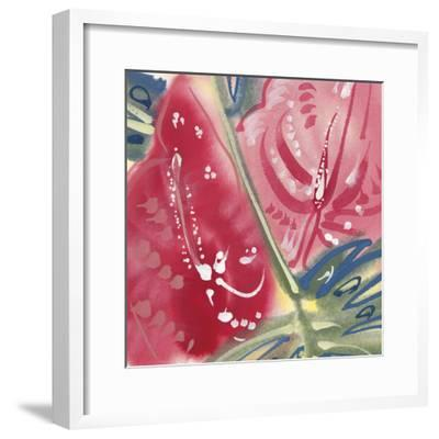 Flamingo Flower II-Alan Halliday-Framed Giclee Print