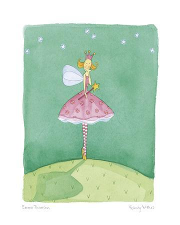 Felicity Wishes VI-Emma Thomson-Framed Giclee Print