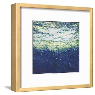 Rising Indigo Sea-Margaret Juul-Framed Art Print