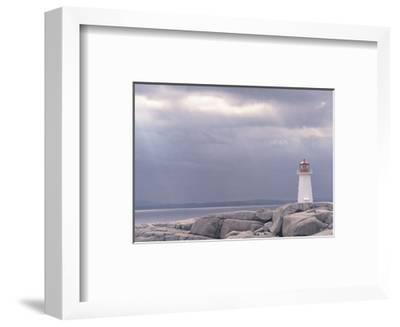 Lighthouse, Nova Scotia-Art Wolfe-Framed Art Print