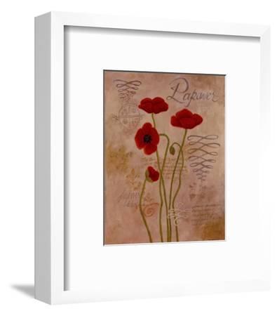 Poppy Fresco I-Adam Guan-Framed Art Print