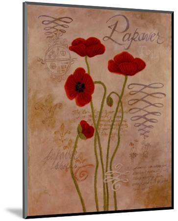 Poppy Fresco I-Adam Guan-Mounted Art Print