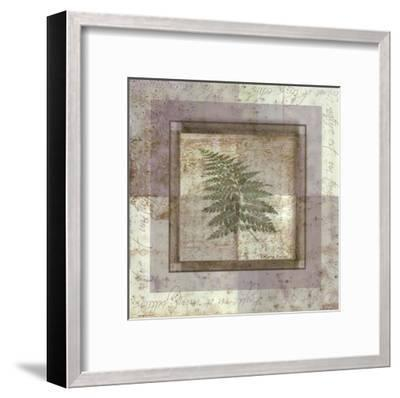 Leaf Carre II-Pierre Fortin-Framed Art Print