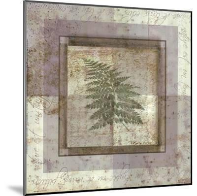 Leaf Carre II-Pierre Fortin-Mounted Art Print