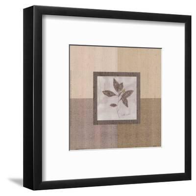 Leaf Spray l-Marguerite Gonot-Framed Art Print
