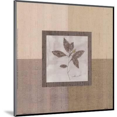Leaf Spray l-Marguerite Gonot-Mounted Art Print