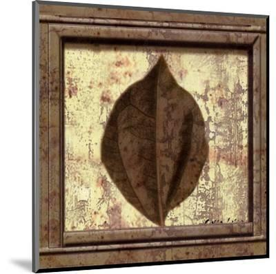 Classic Leaf Square III-Pierre Fortin-Mounted Art Print