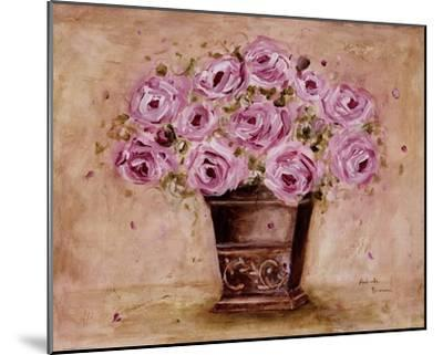Classic Pink Roses-Antonette Bowman-Mounted Art Print