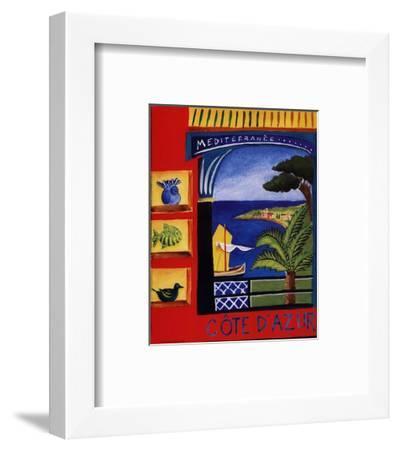 Cote D'Azur-Katharine Gracey-Framed Art Print