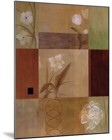 Misty Blooms I-Fernando Leal-Mounted Art Print