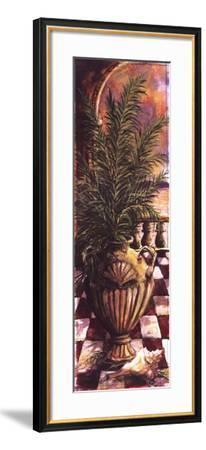 Palm Breezeway I-Sherry Strickland-Framed Art Print