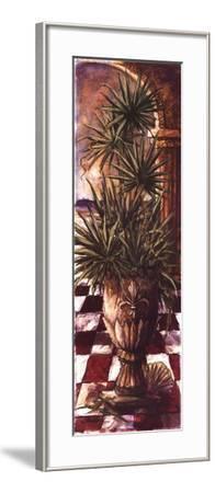 Palm Breezeway II-Sherry Strickland-Framed Art Print