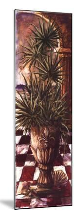 Palm Breezeway II-Sherry Strickland-Mounted Art Print